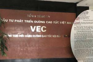 Sự 'thờ ơ' của VEC khi để 'thần chết rình rập' trên cao tốc Hà Nội - Lào Cai