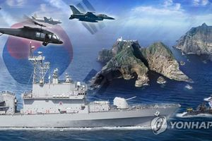 Hàn Quốc tập trận ở quần đảo tranh chấp với Nhật Bản