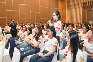 Thí sinh Hoa khôi Sinh viên Việt Nam tìm bí quyết khởi nghiệp trong kỷ nguyên 4.0