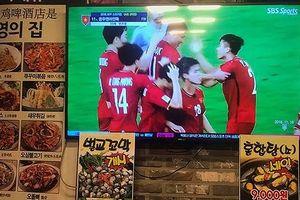 ĐT Việt Nam gây 'sốt' trên sóng truyền hình Hàn Quốc