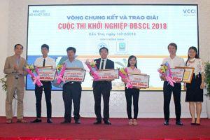 SmartFarm giành giải cao nhất tại cuộc thi khởi nghiệp ĐBSCL