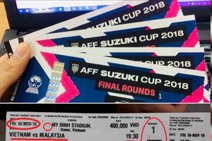 Nhiều người mua phải vé giả trận chung kết lượt về AFF Cup 2018