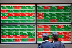 Chứng khoán châu Á giảm mạnh do dữ liệu kinh tế Trung Quốc ảm đạm
