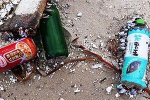 Rác mang chữ Trung Quốc ngập bãi biển: Ai xả rác?
