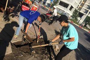 Lan tỏa sinh viên tình nguyện làm đẹp môi trường