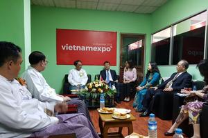 Thứ trưởng Bộ Công thương Đỗ Thắng Hải thăm làm việc tại Myanmar