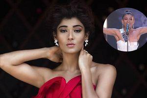 Người đẹp Ấn Độ gặp sự cố lộ ngực tại bán kết 'Miss Universe 2018'