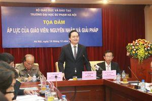 Bộ trưởng GD-ĐT chủ trì 'hội nghị Bình Than' tìm cách giảm áp lực giáo viên
