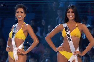 H'Hen Niê 'náo loạn' bán kết Miss Universe với màn catwalk điêu luyện