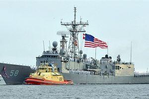 Giữa sự cố trên Biển Đen với Nga, Ukraine thảo luận với hải quân Mỹ