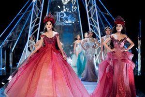 Dàn hoa hậu cùng tỏa sáng trong show diễn thời trang