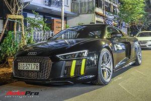 Siêu xe Audi R8 V10 Plus màu đen giống của Cường Đô La tìm được chủ mới