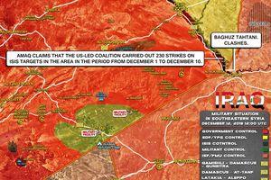 Cận cảnh trận chiến cuối cùng của tay súng IS bị bỏ rơi đến chết