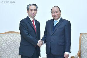Thủ tướng tiếp các vị Đại sứ