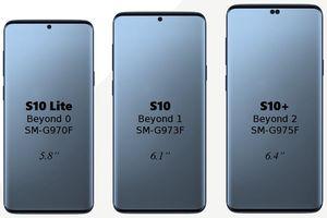Chưa ra mắt thị trường, Samsung Galaxy S10 đã có giá bán