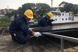 EVN HCMC lắp điện mặt trời cho Trường Phổ thông đặc biệt Nguyễn Đình Chiểu