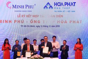 Hòa Phát cung cấp sản phẩm cho các dự án của Minh Phú