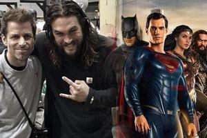 'Aquaman': Món quà ý nghĩa dành tặng Zack Snyder từ vị vua của Atlantis