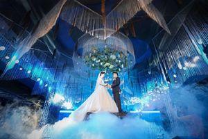 Lại xuất hiện siêu đám cưới 4,6 tỷ ở Hải Phòng mà hội trường như lâu đài cổ tích