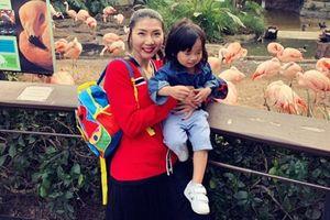 Cuộc sống mẹ đơn thân của Ngọc Quyên sau li hôn bác sĩ Việt kiều