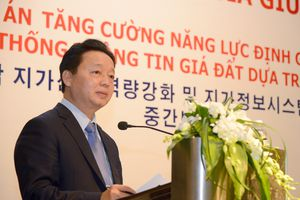 Bộ trưởng Trần Hồng Hà: Người Việt Nam phải làm chủ hệ thống thông tin định giá đất dựa trên VietLIS