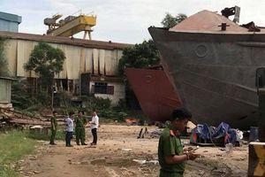 Vụ nổ kinh hoàng tại công ty đóng tàu An Phú, 2 người tử vong