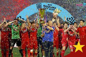 Quá háo hức trước chung kết, cộng đồng mạng chế ảnh đội tuyển Việt Nam cầm cúp vàng vô địch AFF Cup 2018
