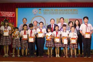 Yến sào Khánh Hòa trao giải cho khách hàng trúng thưởng tại Cần Thơ