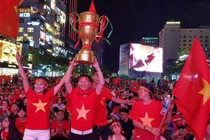 NGÀY MAI: Điện Biên lắp màn hình cực khủng chiếu MIỄN PHÍ trận chung kết lượt về bóng đá AFF Cup 2018