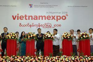 64 doanh nghiệp tham dự Hội chợ hàng Việt Nam năm 2018 tại Myanmar