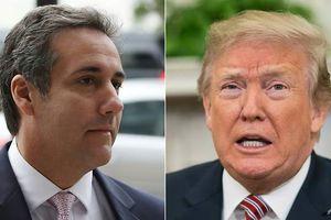 Trump: 'Tôi chưa bao giờ chỉ đạo Michael Cohen vi phạm luật'