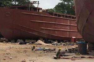 Nổ tại xưởng đóng tàu, ít nhất 3 người thương vong