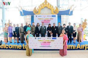 Thái Lan chào đón khách du lịch Việt Nam thứ 1 triệu trong năm 2018