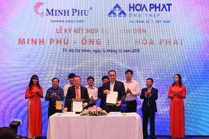 Hòa Phát cung cấp ống thép cho 'Vua tôm' Minh Phú đầu tư hồ nuôi nổi