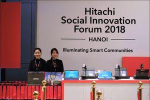 Hitachi giới thiệu các giải pháp phát triển bền vững cho Việt Nam