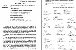 Đà Nẵng: Xác minh 'tâm thư' gửi Thủ tướng Chính phủ