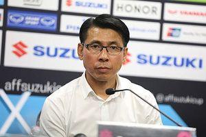 HLV Tan Cheng Hoe: 'Bàn thua sớm khiến Malaysia suy sụp'