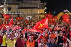 Không khí sôi động tại TP Hồ Chí Minh trước trận chung kết AFF Cup 2018