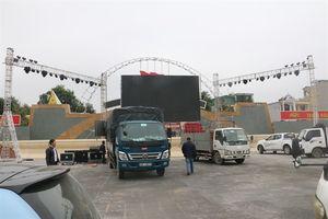 Lắp màn hình 500 inch tại Quảng trường Lam Sơn cổ vũ cho tuyển Việt Nam