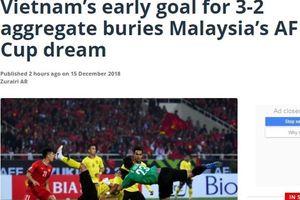 Việt Nam chôn vùi giấc mơ AFF Cup của Malaysia trên sân Mỹ Đình