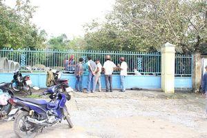 Công nhân bị máy trộn bê tông cuốn tử vong