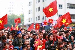 Cư dân HH Linh Đàm tiếp lửa cho chiến thắng của Đội tuyển Việt Nam
