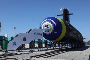 Brazil hạ thủy tàu ngầm tấn công đầu tiên đóng theo công nghệ của Pháp