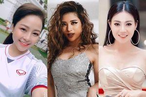 'Lan cave', hotgirl Trâm Anh, Hoa hậu Đông Nam Á phấn khích 'tiếp lửa' cho thầy trò HLV Park Hang seo