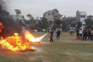 Tích cực phòng ngừa các vụ tai nạn do cháy, nổ
