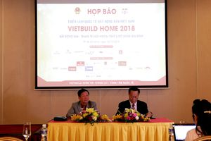 Gần 2.200 gian hàng của hơn 460 doanh nghiệp tham gia Vietbuild Home 2018