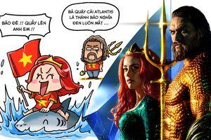 Đế Vương Aquaman và công chúa Mera mở quầy tâm sự nhỏ to loài chim biển trước thềm chung kết AFF Cup