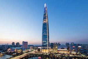 Ghé thăm tòa nhà chọc trời ấn tượng ở Hàn Quốc có thang máy nhanh nhất trên thế giới
