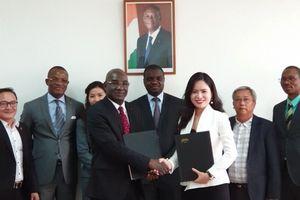 T&T Group ký bản ghi nhớ hợp tác với Hội đồng bông và điều Bờ Biển Ngà