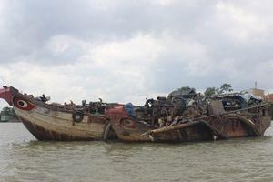 'Cát tặc' đầu tiên trên sông Đồng Nai bị khởi tố hình sự